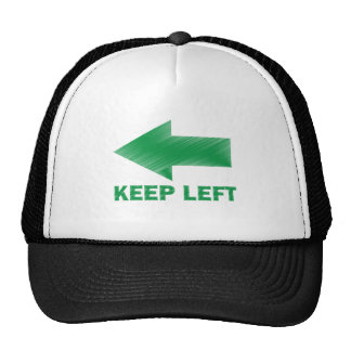 KEEP LEFT CAP