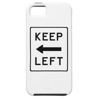 Keep Left Democratic Swag iPhone 5 Case