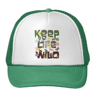 Keep Life Wild Mesh Hat