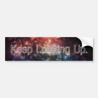"""Keep Looking Up"" Bumper Sticker II"