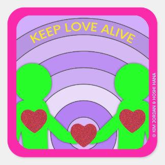 Keep Love Alive sticker by Hoshi Hana & Kim Jordan