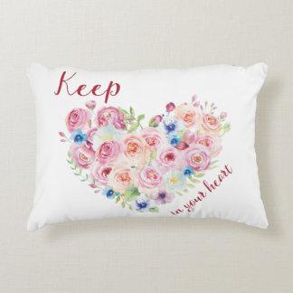 Keep Love in Your Heart Decorative Cushion