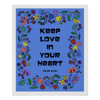 Keep Love In Your Heart Poster