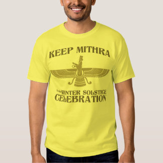 Keep Mithra in the Winter Solstice Celebration T-shirts