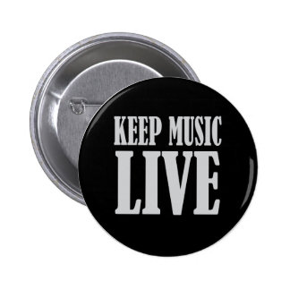 Keep Music Live Button