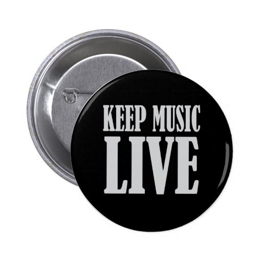 Keep Music Live Button