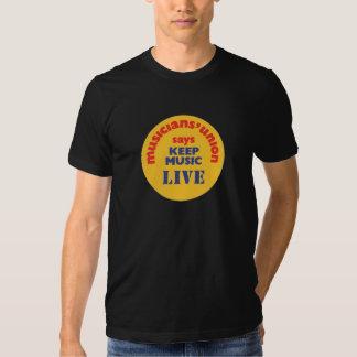 Keep Music Live Tshirt