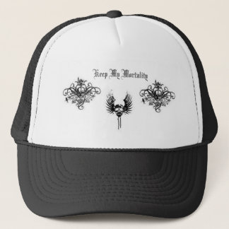 Keep My Mortality Trucker Hat