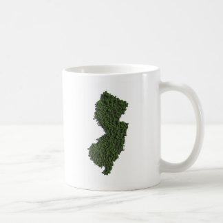 Keep New Jersey Green Coffee Mugs