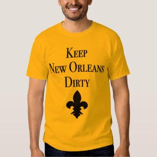 Keep New Orleans Dirty Fleur De Lis Tees