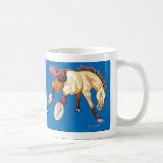 Keep on Bucking! Horse Basic White Mug