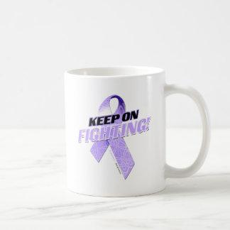 Keep on Fighting Alzheimer s Coffee Mug