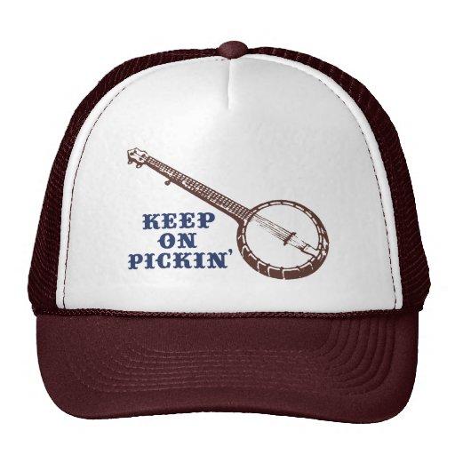 Keep On Pickin' Trucker Hats