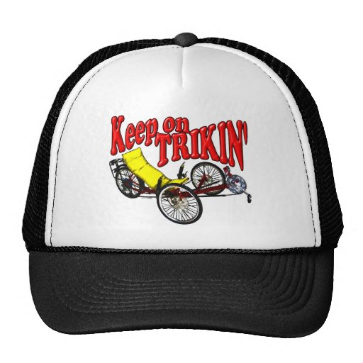 Keep On Trikin' Mesh Hat