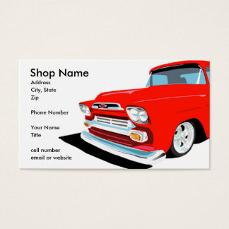 Keep On Truckin' Business Card