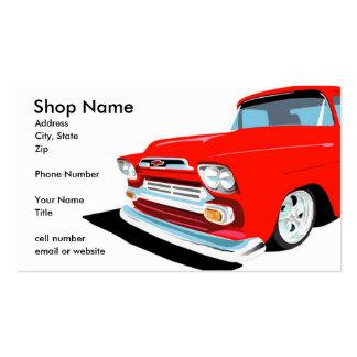 Keep On Truckin' Business Card Templates