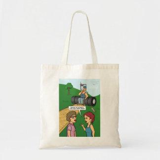 Keep On Truckin' Canvas Bag
