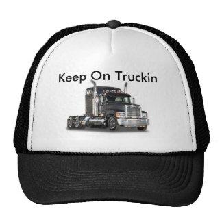 Keep On Truckin Trucker Hats
