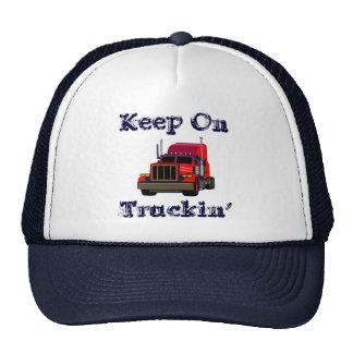 Keep On Truckin' Cap Trucker Hats