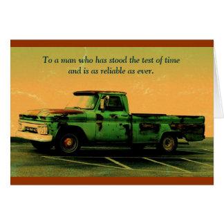Keep on Truckin, Dad Greeting Card