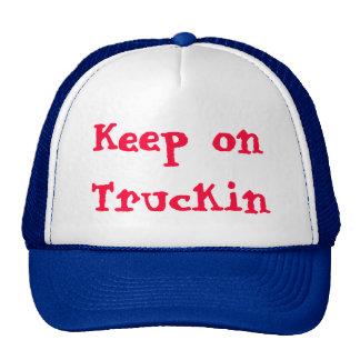 Keep on Truckin design by James Black Cap