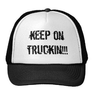 keep on truckin!!! mesh hats