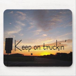 Keep on Truckin' Mouse Pad
