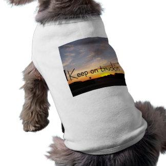 Keep on Truckin' Sleeveless Dog Shirt