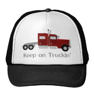 Keep On Truckin Tee Shirt Hat
