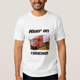 Keep on truckin tee shirts