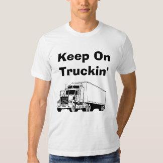 Keep On Truckin' Tee Shirts