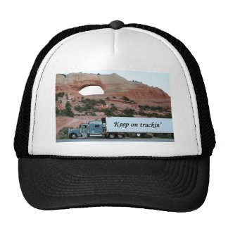 Keep on truckin': truck & arch, Southwest USA Hat