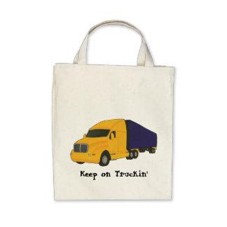 Keep on Truckin', truck on bags