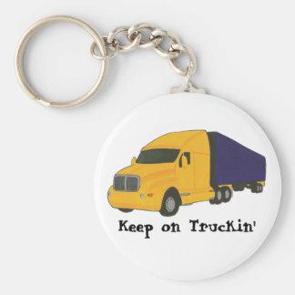 Keep on Truckin', truck on key chains
