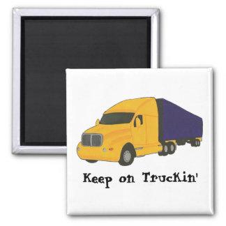Keep on Truckin', truck on magnets