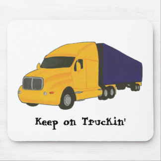 Keep on Truckin', truck on mouse pads