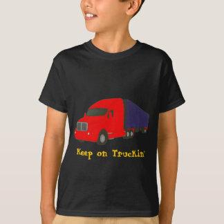 Keep on Truckin', truck on t-shirts