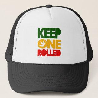 Keep one rolled - harshly Rasta Reggae - Trucker Trucker Hat