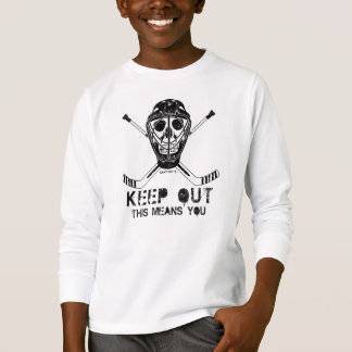 Keep Out - Hockey Goalie Youth Tshirt