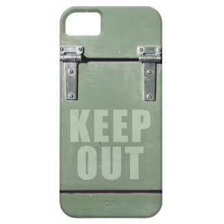 keep out metal door case for the iPhone 5