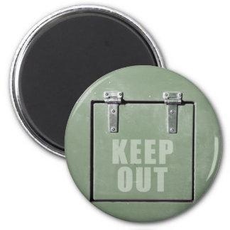 keep out metal door magnet