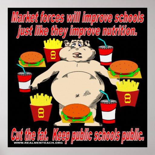Keep Public Schools Public Posters
