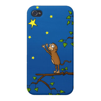 Keep Reaching Monkey iPhone 4/4S Case