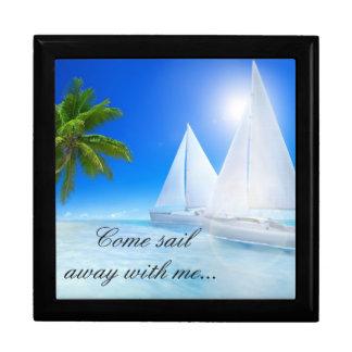 Keep Sake/Gift Box/Beach with Quote Gift Box