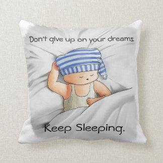 Keep sleeping / sleepless pillow