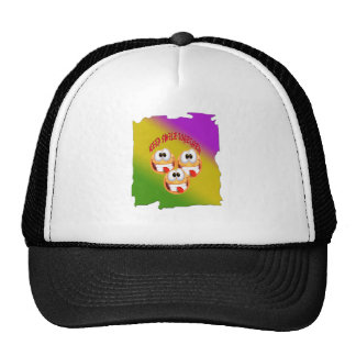 Keep Smile Together With fresh Gradient Cap