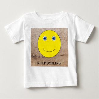 Keep Smiling Baby T-Shirt