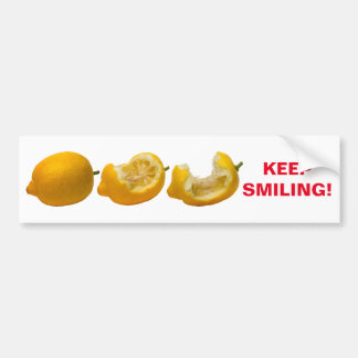 Keep Smiling Bumper Sticker