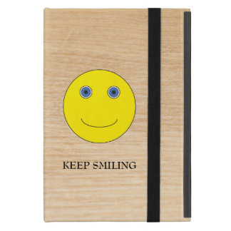 Keep Smiling Cover For iPad Mini