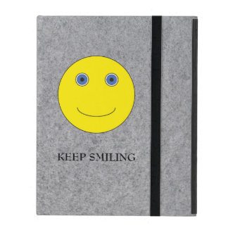 Keep Smiling iPad Case